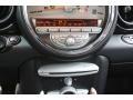 Lounge Carbon Black Leather Controls Photo for 2009 Mini Cooper #78671244