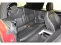 Lounge Carbon Black Leather Rear Seat Photo for 2009 Mini Cooper #78671476