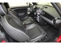 Lounge Carbon Black Leather 2009 Mini Cooper Interiors