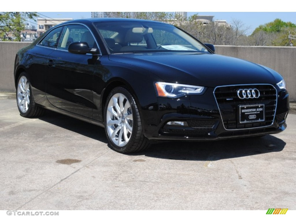 2013 brilliant black audi a5 2 0t quattro coupe 78640722 car color galleries. Black Bedroom Furniture Sets. Home Design Ideas
