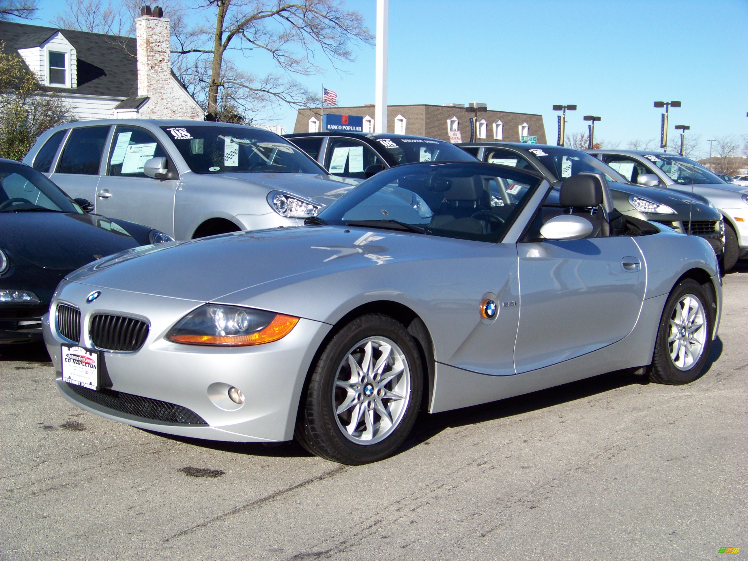 2003 Silver Bmw Z4 2 5i Roadster 786811 Photo 22