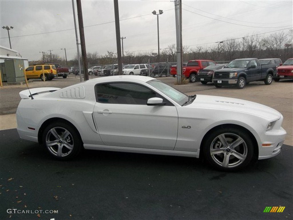 2014 oxford white ford mustang gt premium coupe 78640054. Black Bedroom Furniture Sets. Home Design Ideas