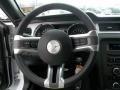 2014 Ford Mustang Medium Stone Interior Steering Wheel Photo