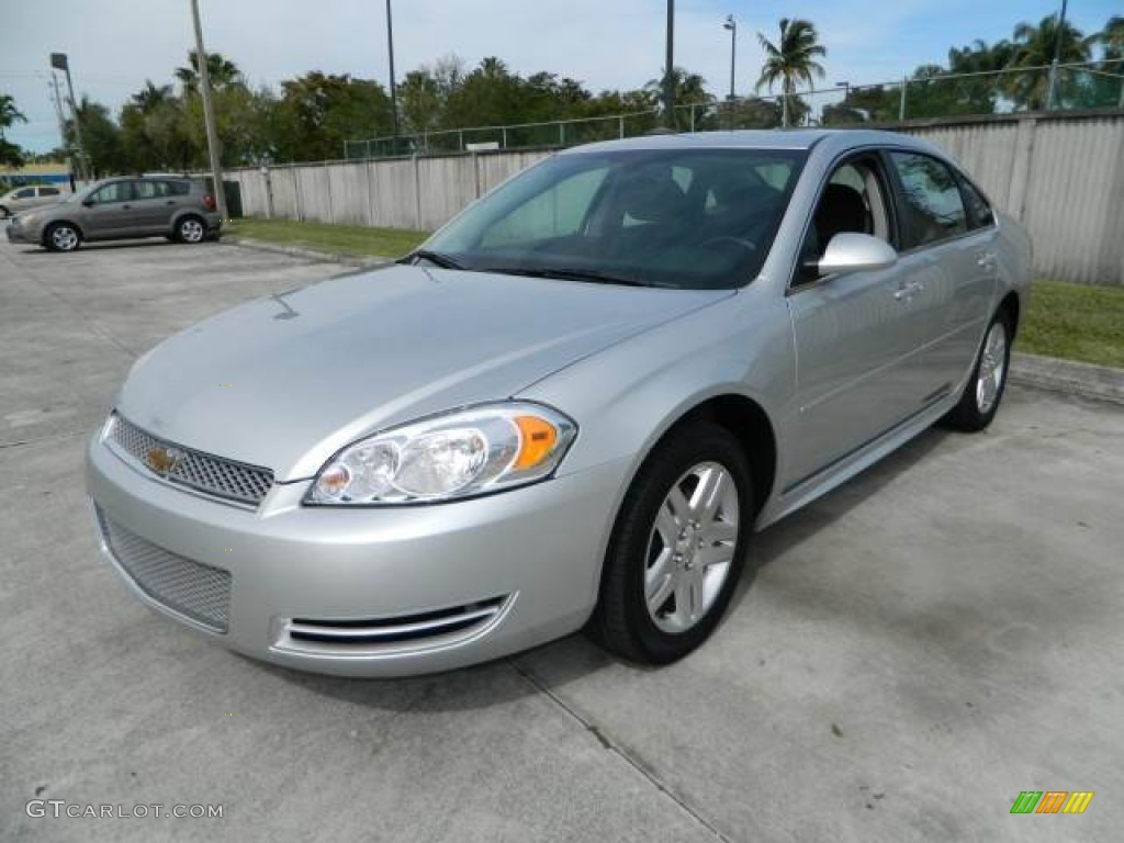 silver ice metallic 2012 chevrolet impala lt exterior. Black Bedroom Furniture Sets. Home Design Ideas