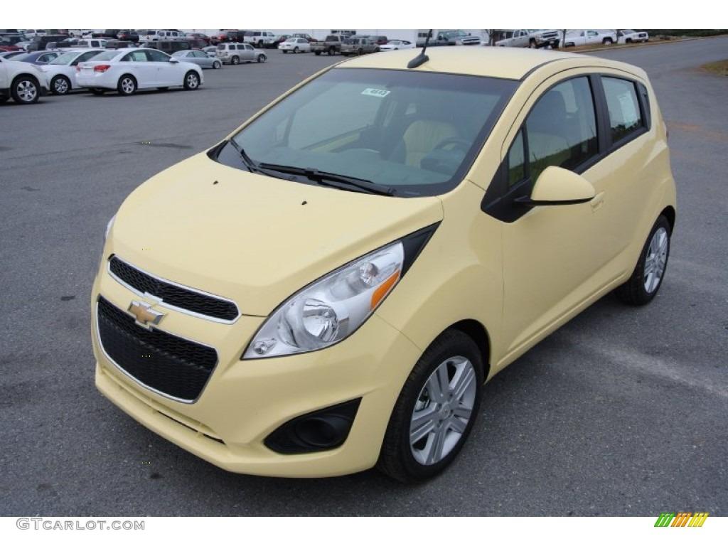 2013 Lemonade Yellow Chevrolet Spark LT 78640563  GTCarLotcom