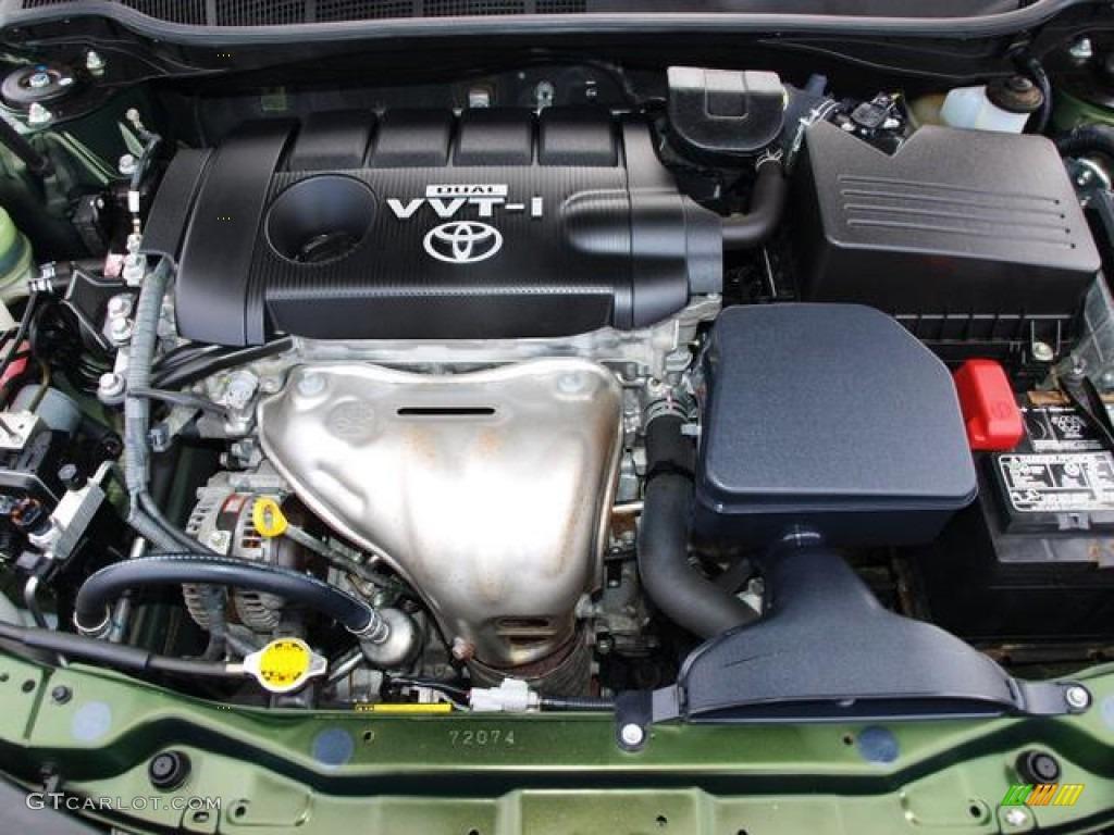 2010 toyota camry le 2 5 liter dohc 16 valve dual vvt i 4 cylinder engine pho. Black Bedroom Furniture Sets. Home Design Ideas