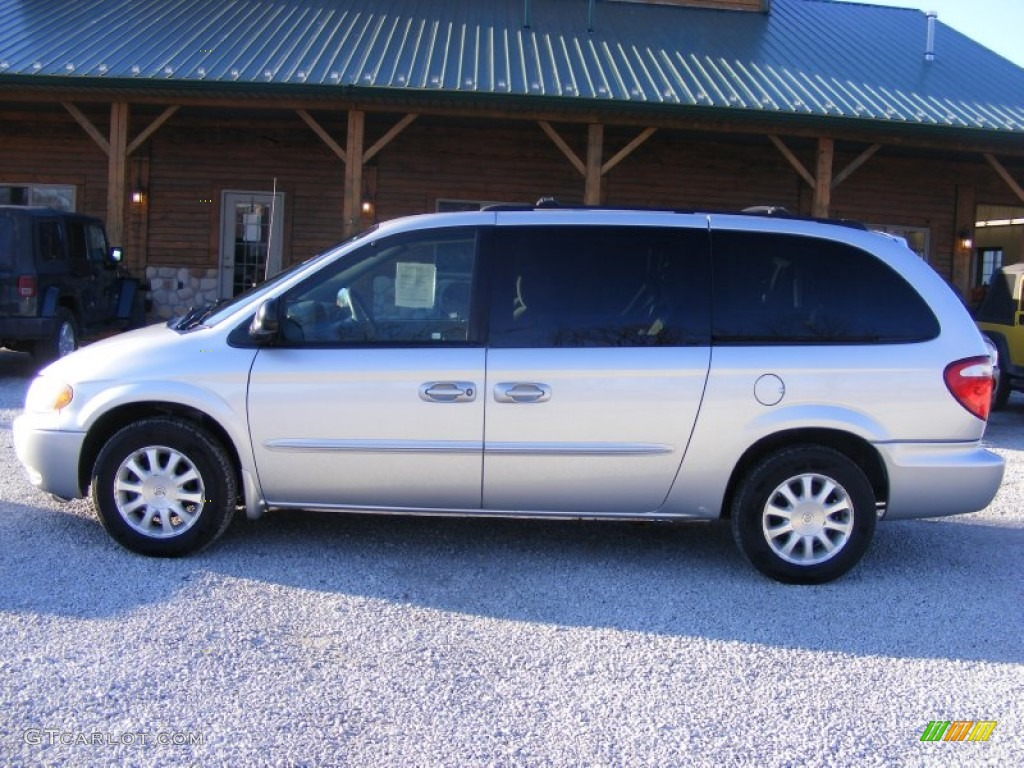 2003 bright silver metallic chrysler town country ex. Black Bedroom Furniture Sets. Home Design Ideas
