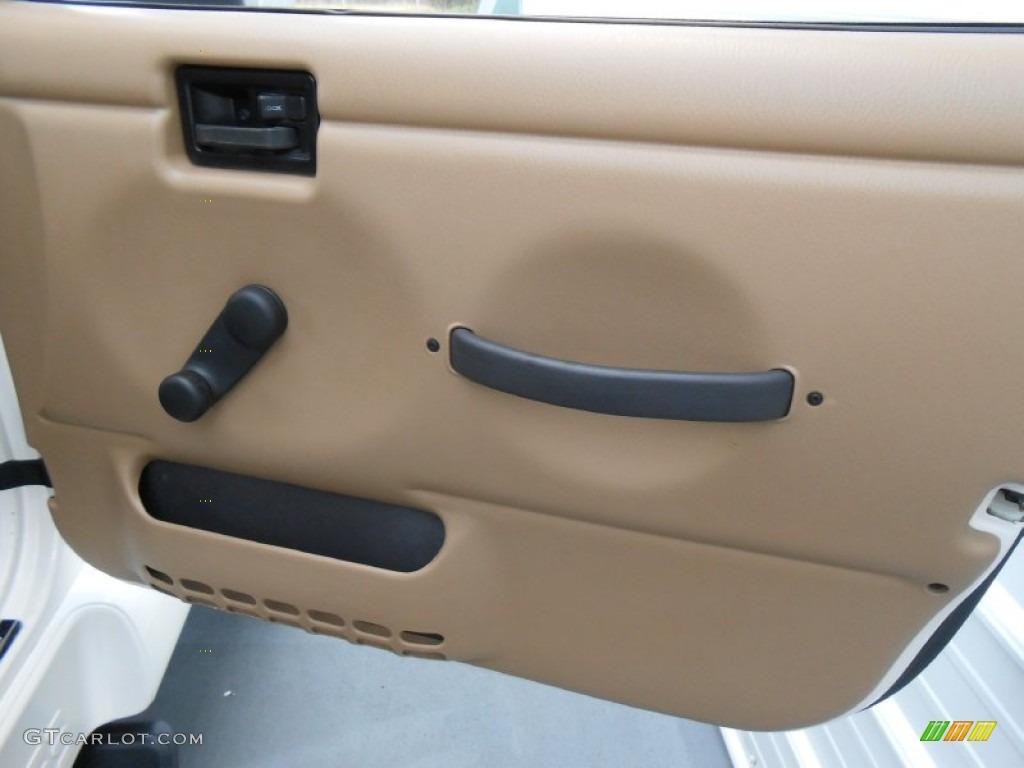 2001 Jeep Wrangler Sahara 4x4 Door Panel Photos