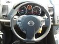 2011 Nissan Sentra Beige Interior Steering Wheel Photo