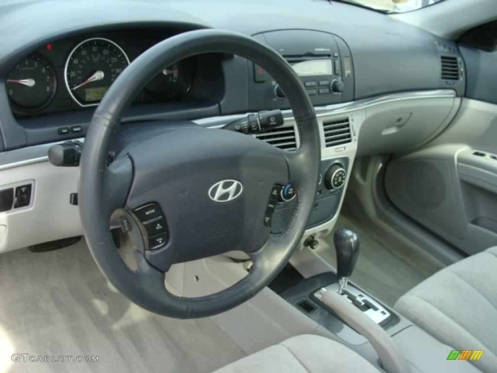 2006 Hyundai Sonata Gls V6 Gray Dashboard Photo 78714914