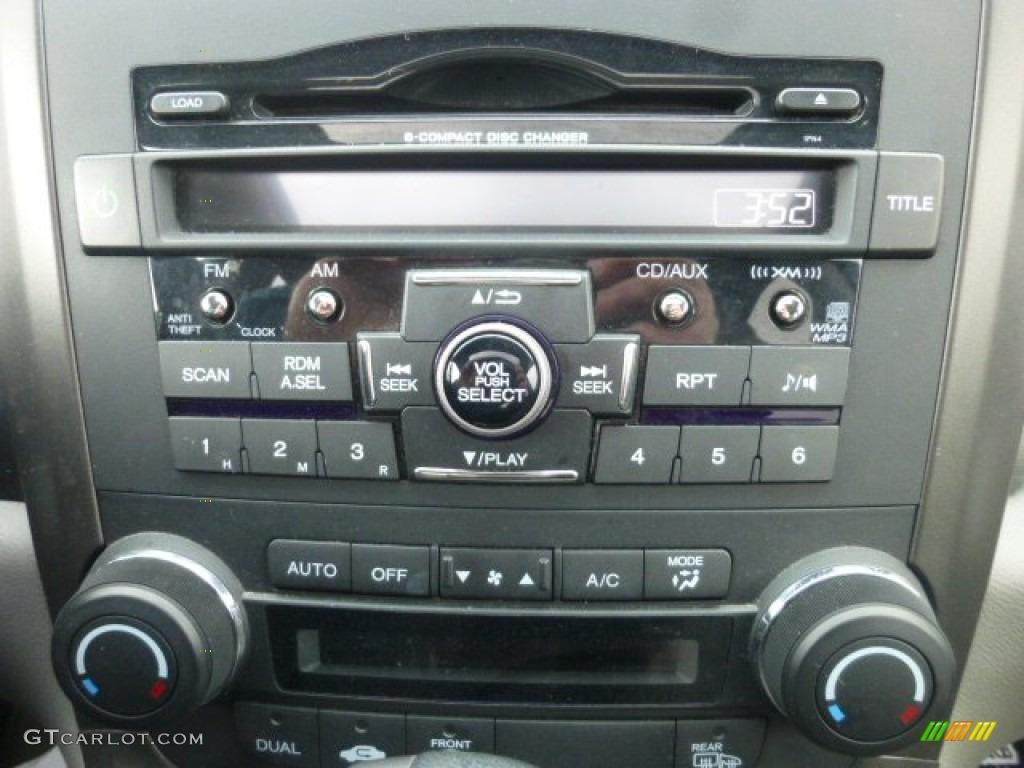 2010 CR-V EX-L AWD - Glacier Blue Metallic / Gray photo #19