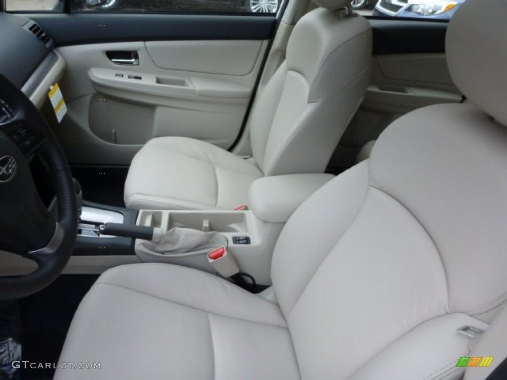 Ivory Interior 2013 Subaru Impreza Sport Limited 5 Door Photo 78722258