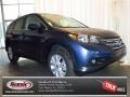 2013 Twilight Blue Metallic Honda CR-V EX  photo #1