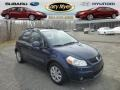 Deep Sea Blue Metallic 2011 Suzuki SX4 Crossover AWD