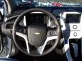 Jet Black/Ceramic White Accents Steering Wheel Photo for 2013 Chevrolet Volt #78747548
