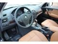 Saddle Brown 2010 BMW X3 Interiors