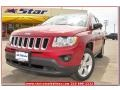Deep Cherry Red Crystal Pearl 2013 Jeep Compass Gallery