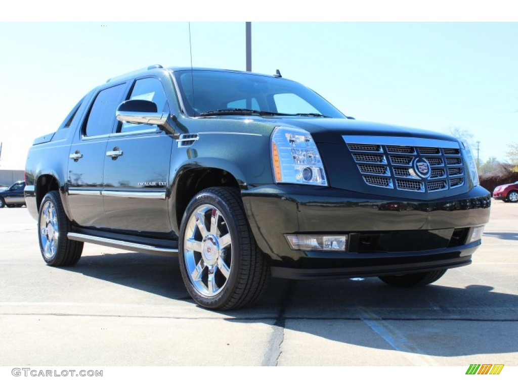 2013 Cadillac Escalade EXT Luxury AWD - Midnight Green Metallic Color