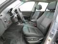 2008 BMW X3 Black Interior Front Seat Photo