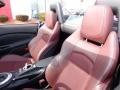 Wine Leather 2010 Nissan 370Z Interiors