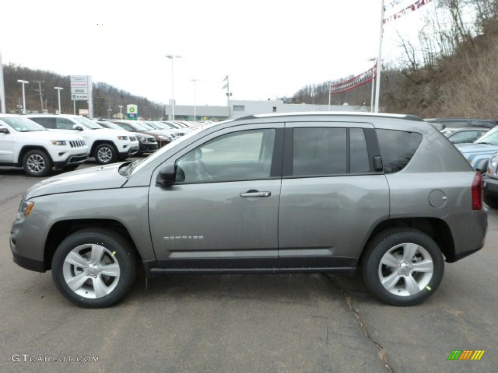 2014 mineral gray metallic jeep compass sport 4x4. Black Bedroom Furniture Sets. Home Design Ideas