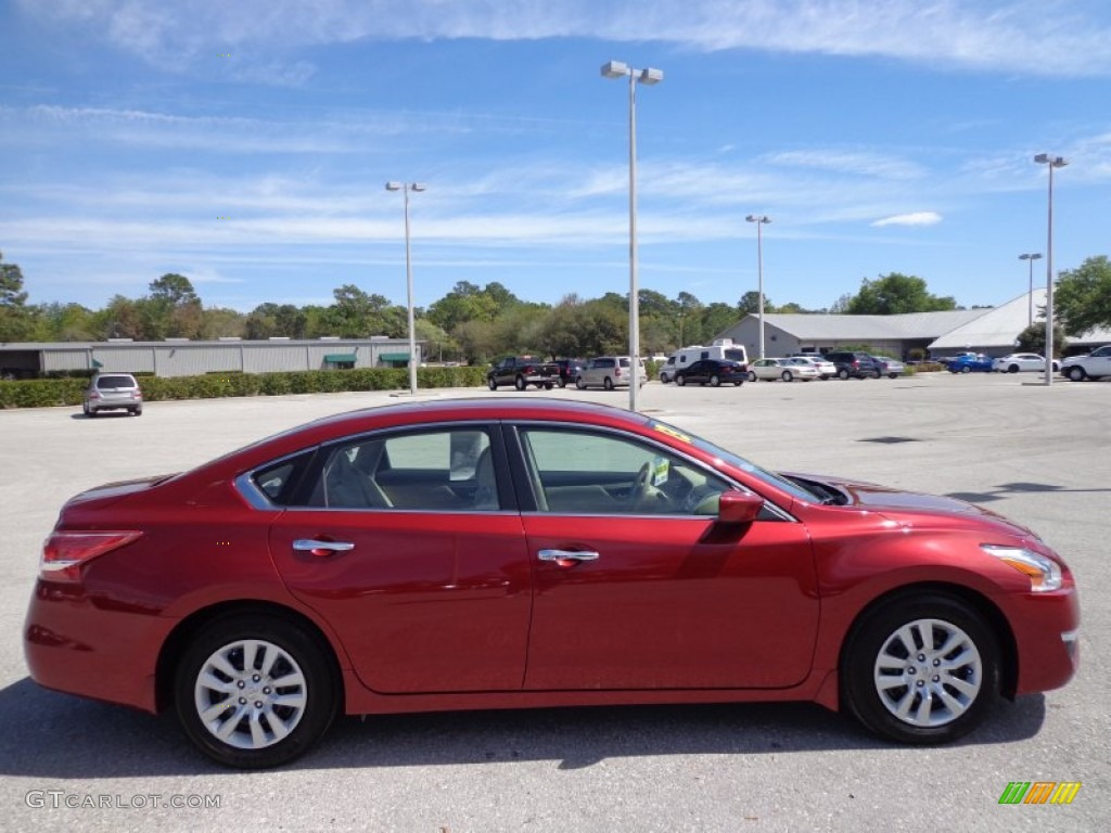 Cayenne Red 2013 Nissan Altima 2 5 S Exterior Photo 78767579