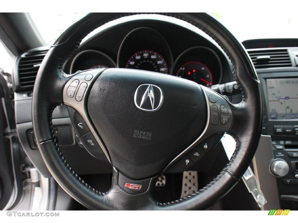 Acura TL TypeS EbonySilver Steering Wheel Photo - Acura tl steering wheel