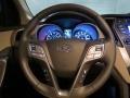 Beige Steering Wheel Photo for 2013 Hyundai Santa Fe #78779414