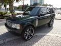 Epsom Green Metallic 2004 Land Rover Range Rover HSE