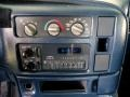 2000 Chevrolet Astro Blue Interior Controls Photo