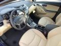 Beige Prime Interior Photo for 2013 Hyundai Elantra #78791846
