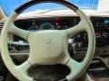 2000 Cadillac Escalade Neutral Shale Interior Steering Wheel Photo