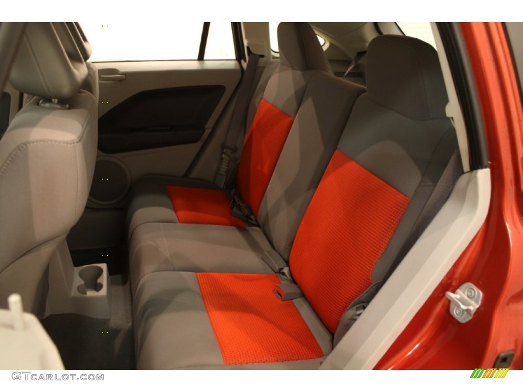 pastel slate gray orange interior 2007 dodge caliber sxt photo 78798353. Black Bedroom Furniture Sets. Home Design Ideas