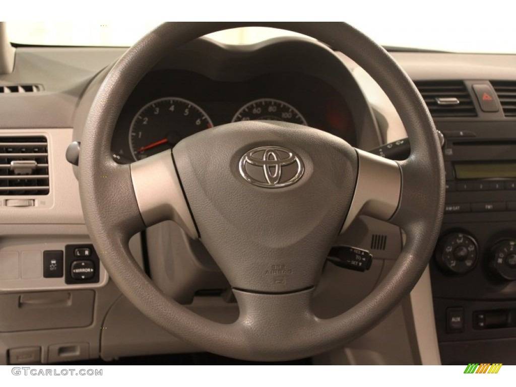 2010 toyota corolla le steering wheel photos. Black Bedroom Furniture Sets. Home Design Ideas