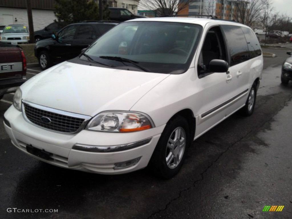 2003 vibrant white ford windstar se 78764110 car color galleries. Black Bedroom Furniture Sets. Home Design Ideas