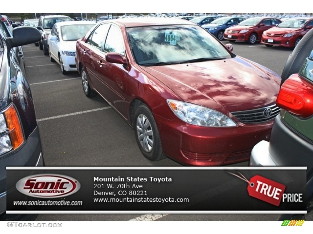 2006 salsa red pearl toyota camry le 78763701 car color galleries. Black Bedroom Furniture Sets. Home Design Ideas