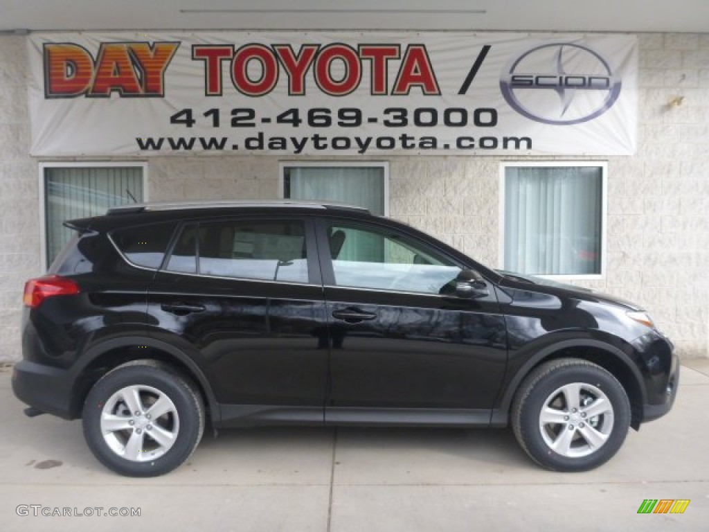 2013 Black Toyota Rav4 Xle Awd 78763821 Gtcarlot Com