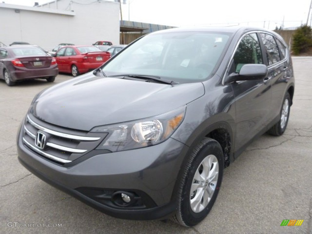 Polished Metal Metallic 2013 Honda Cr V Ex Awd Exterior Photo 78808700