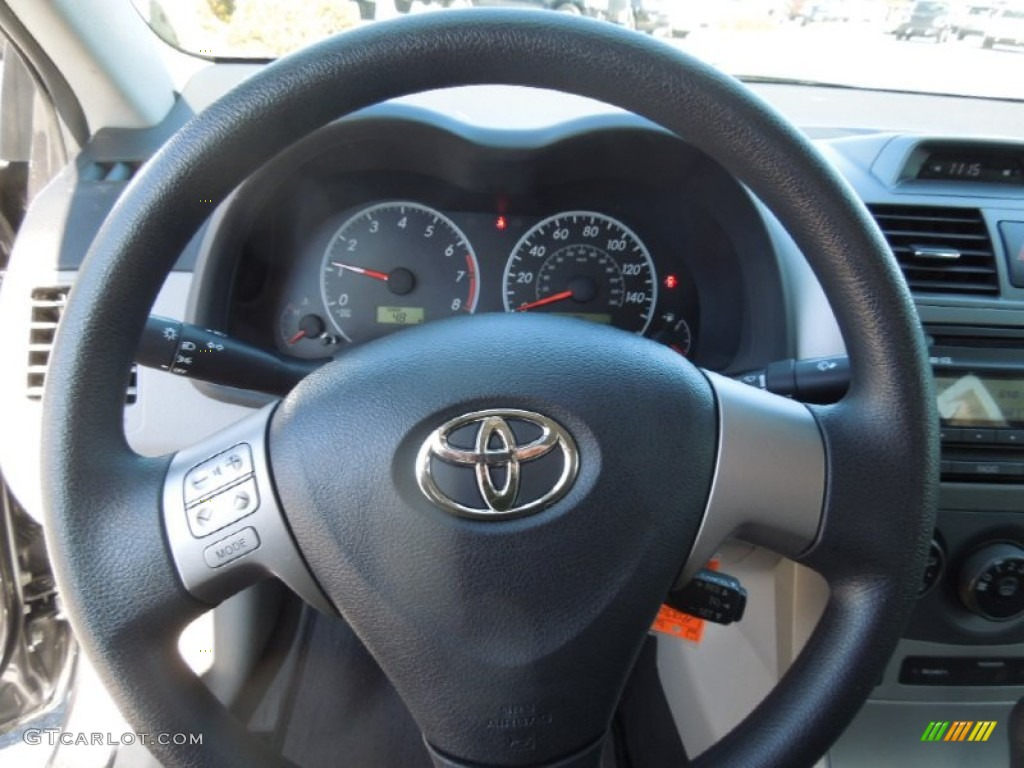 2012 toyota corolla le steering wheel photos. Black Bedroom Furniture Sets. Home Design Ideas