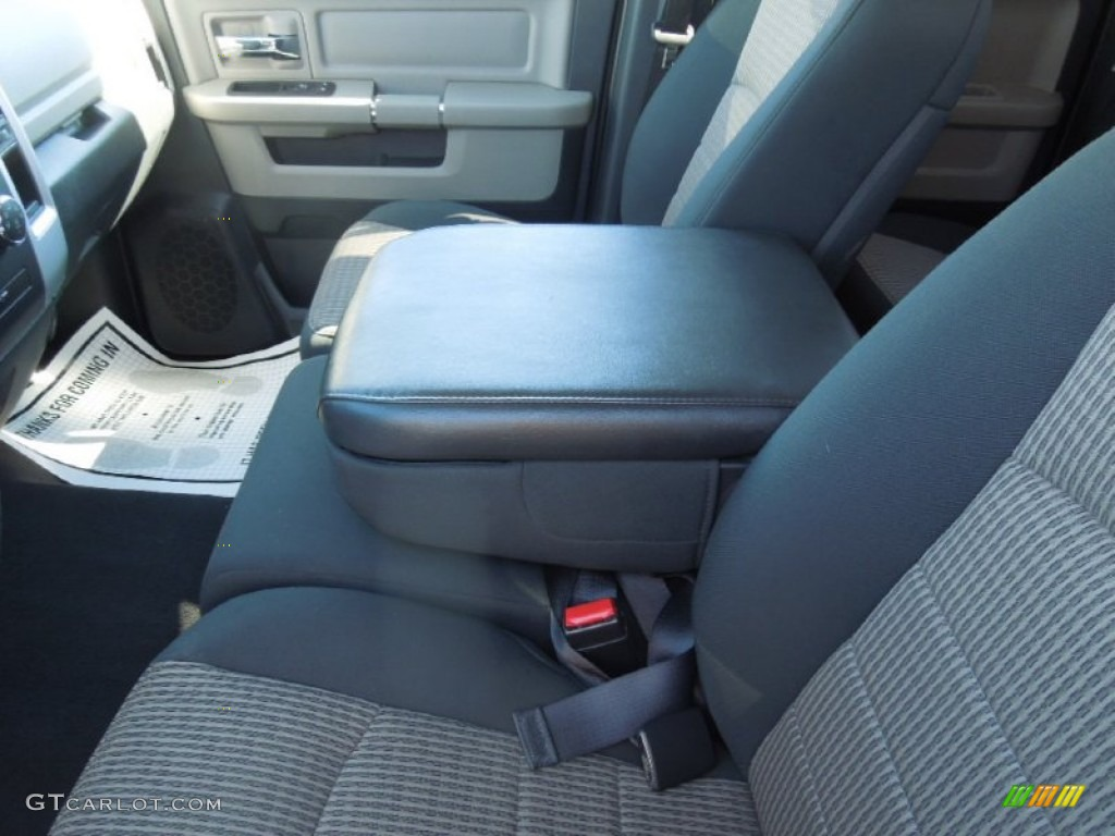 2012 Ram 1500 SLT Quad Cab - Sagebrush Pearl / Dark Slate Gray/Medium Graystone photo #11