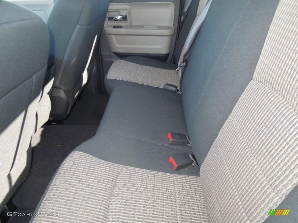 2012 Ram 1500 SLT Quad Cab - Sagebrush Pearl / Dark Slate Gray/Medium Graystone photo #16