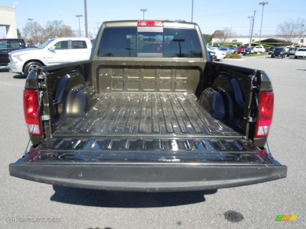 2012 Ram 1500 SLT Quad Cab - Sagebrush Pearl / Dark Slate Gray/Medium Graystone photo #17