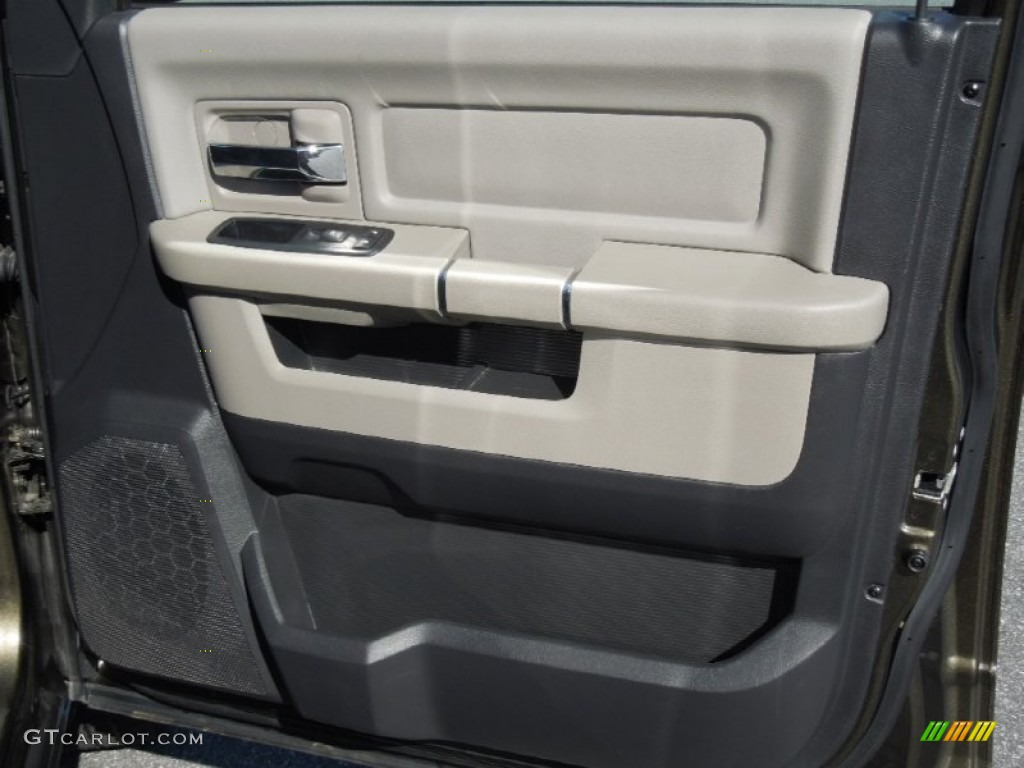 2012 Ram 1500 SLT Quad Cab - Sagebrush Pearl / Dark Slate Gray/Medium Graystone photo #19