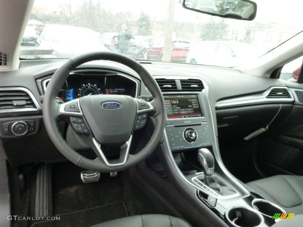 2013 Ford Fusion Titanium Awd Dashboard Photos