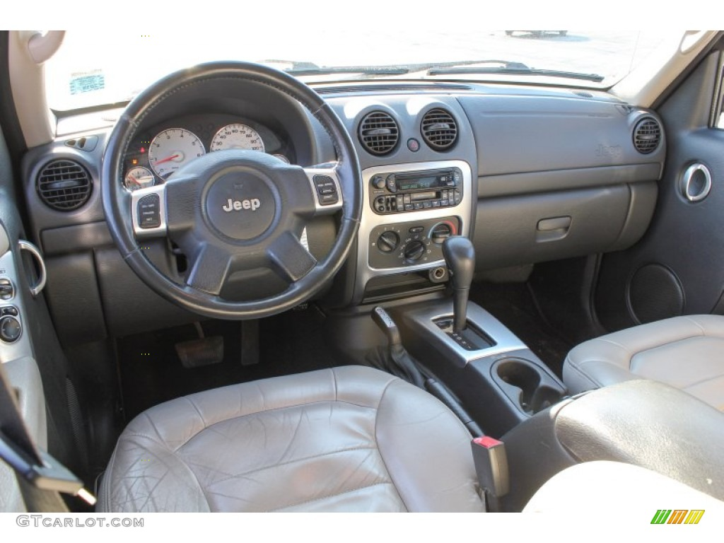 2003 Jeep Liberty Limited 4x4 Light Taupe/Dark Slate Gray ...