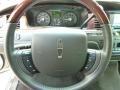 2011 Lincoln Town Car Black Interior Steering Wheel Photo