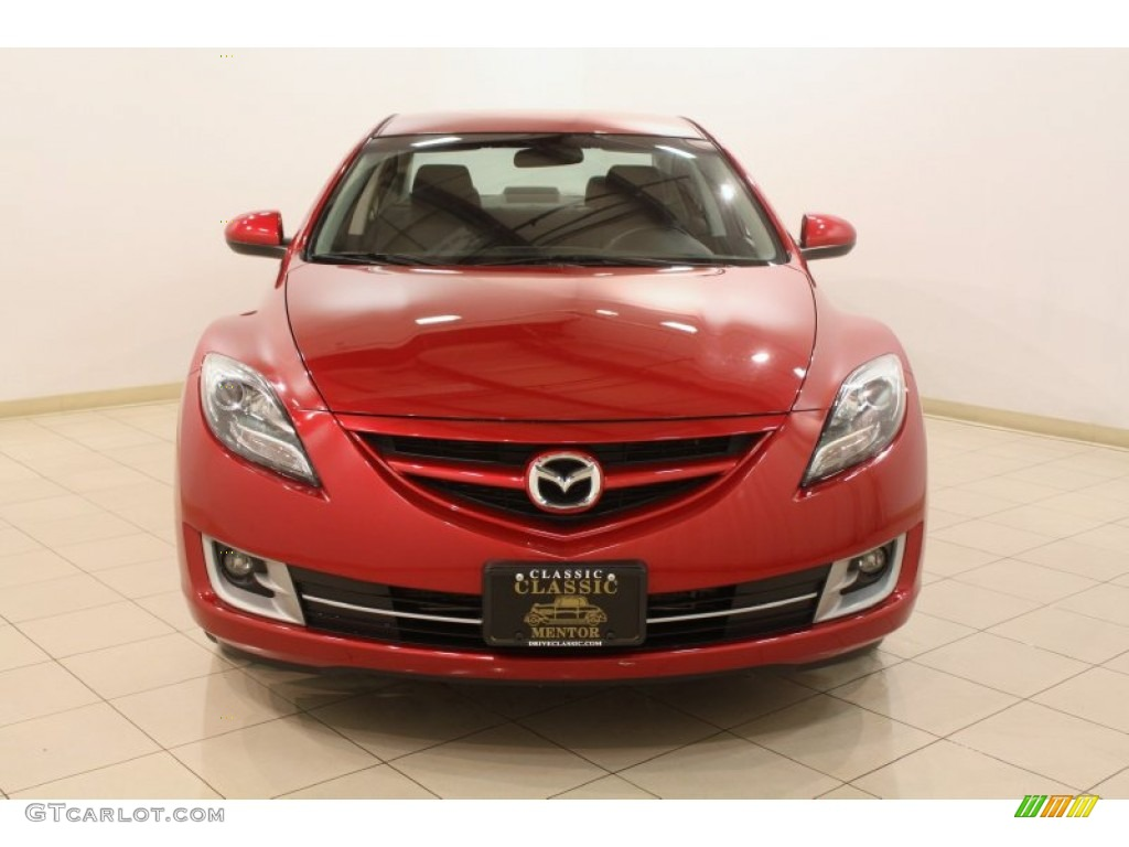 2012 fireglow red mazda mazda6 i touring sedan 78824846 photo 2 car color. Black Bedroom Furniture Sets. Home Design Ideas