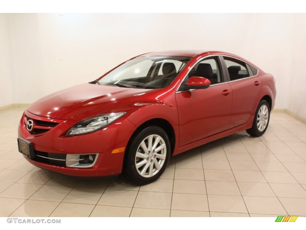 2012 fireglow red mazda mazda6 i touring sedan 78824846 photo 3 car color. Black Bedroom Furniture Sets. Home Design Ideas