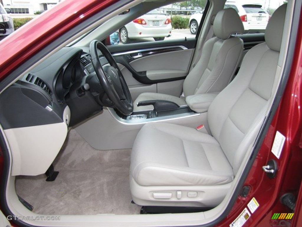 taupe interior 2008 acura tl 3 2 photo 78836945. Black Bedroom Furniture Sets. Home Design Ideas