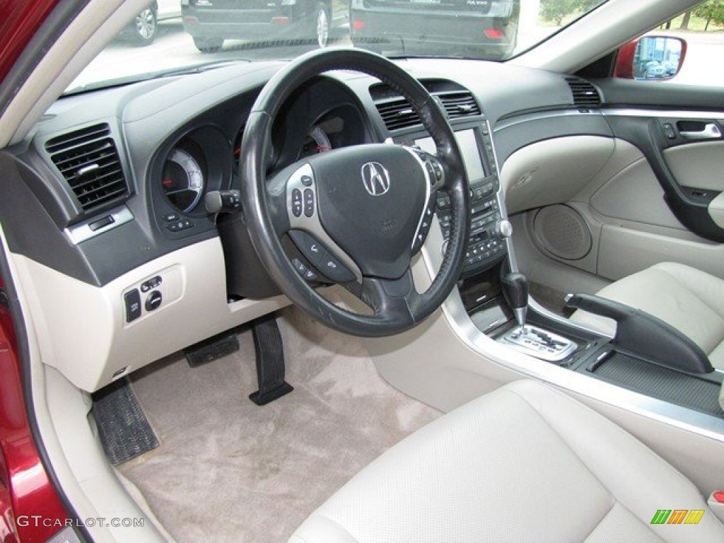 taupe interior 2008 acura tl 3 2 photo 78837138. Black Bedroom Furniture Sets. Home Design Ideas